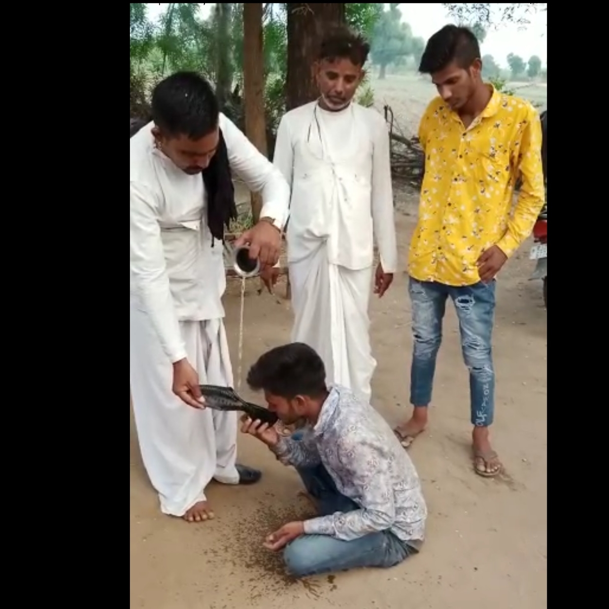Watch: Panchayat forces boy to drink urine for falling in love in Rajasthan, video goes viral