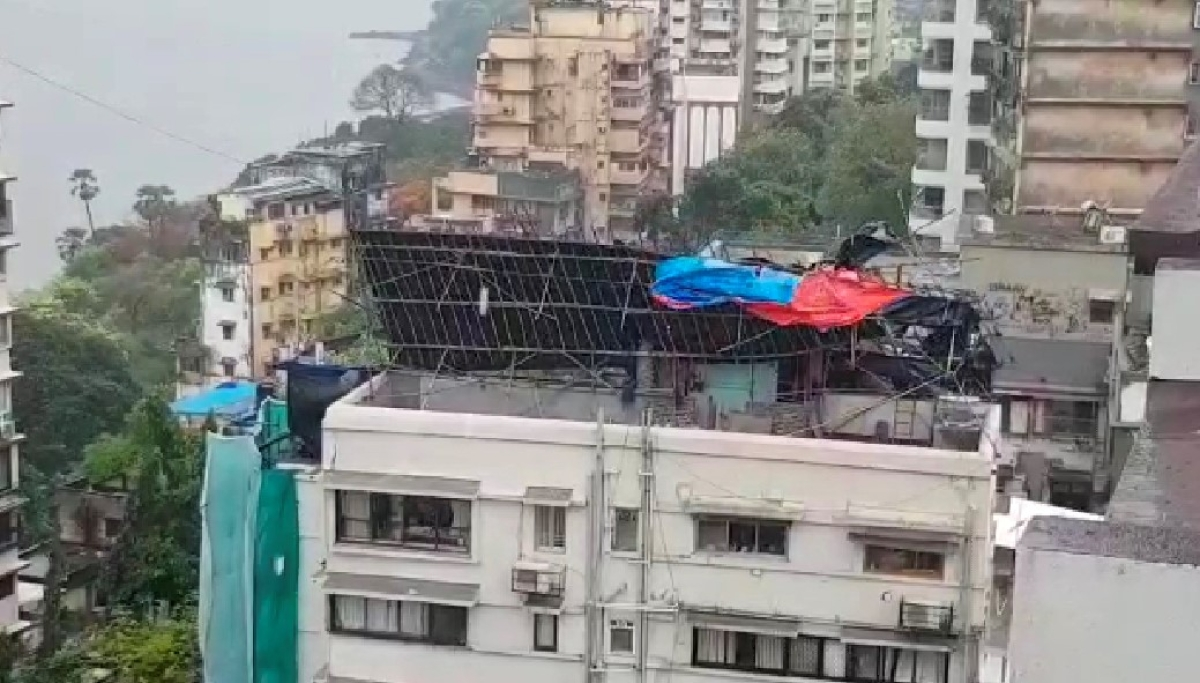Cyclone Nisarga: Dangerous structures escape the worst in Mumbai