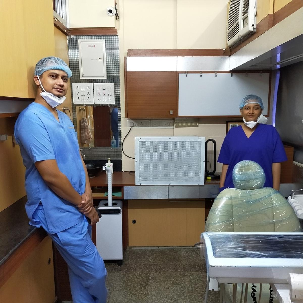 Dr Pranay Pardeshi with Dr Pranita Pardeshi