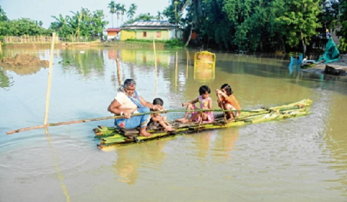 ASSAM FLOOD: 9.3 lakh hit