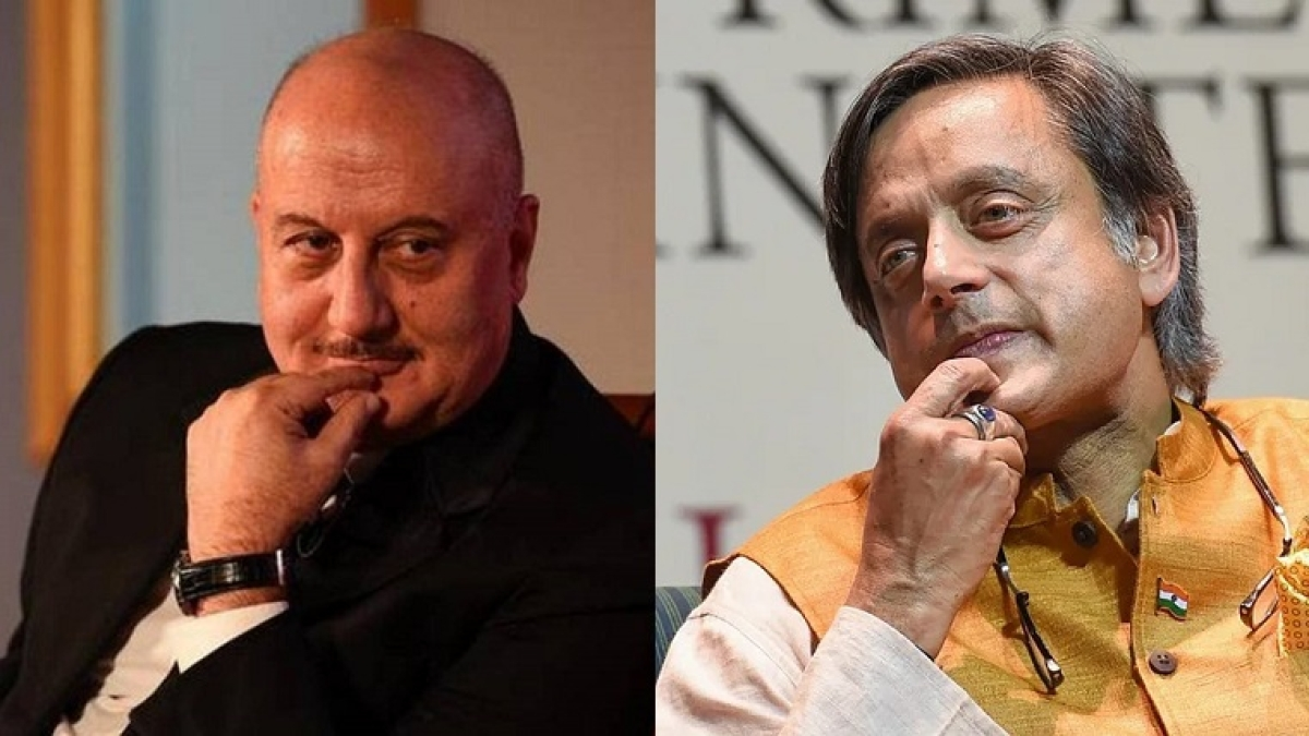Anupam Kher spars with Shashi Tharoor over 2012 tweet on patriotism
