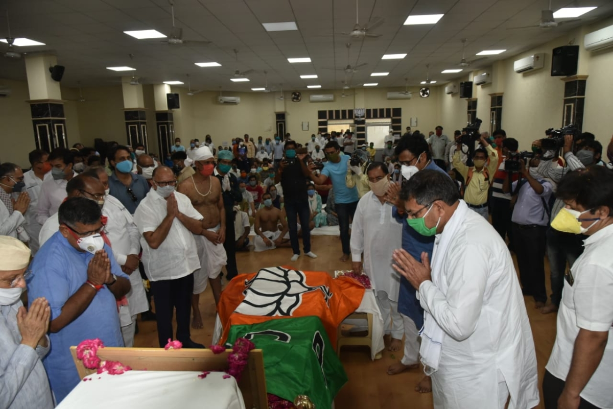Rajasthan BJP top-brass goes into self-quarantine after interacting with COVID-19-infected PA of dead leader at funeral