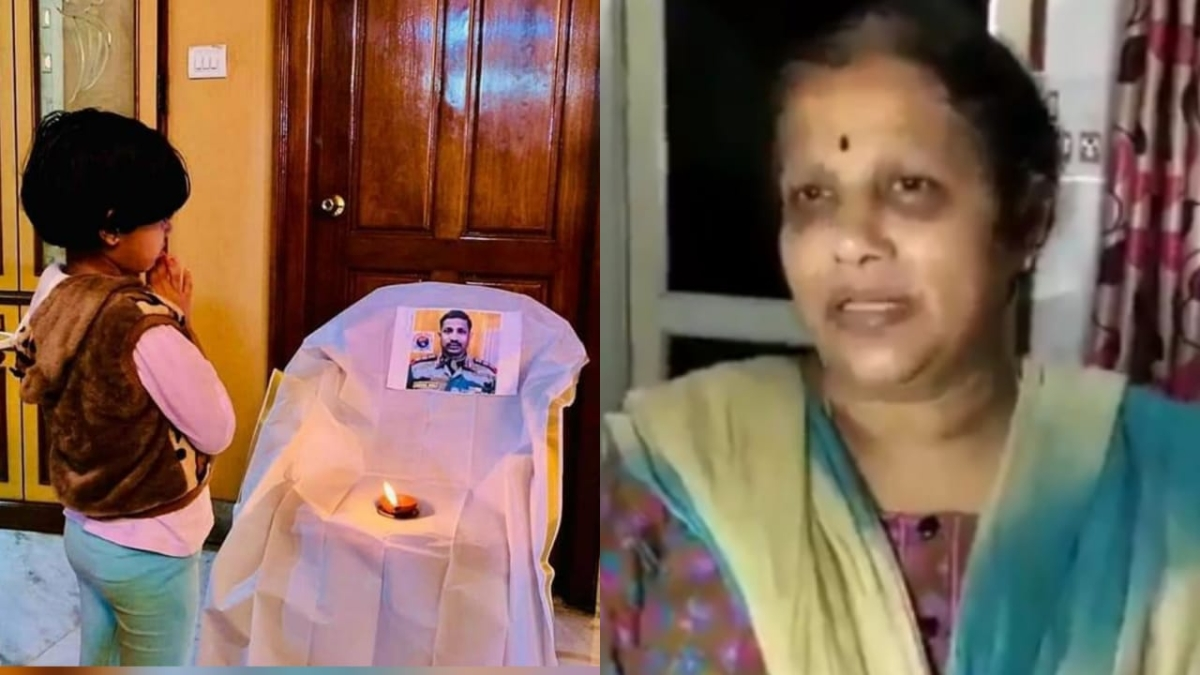 India-China face-off at Galwan Valley: This video of Martyr Santosh Babu's proud mother will bring tears to your eyes