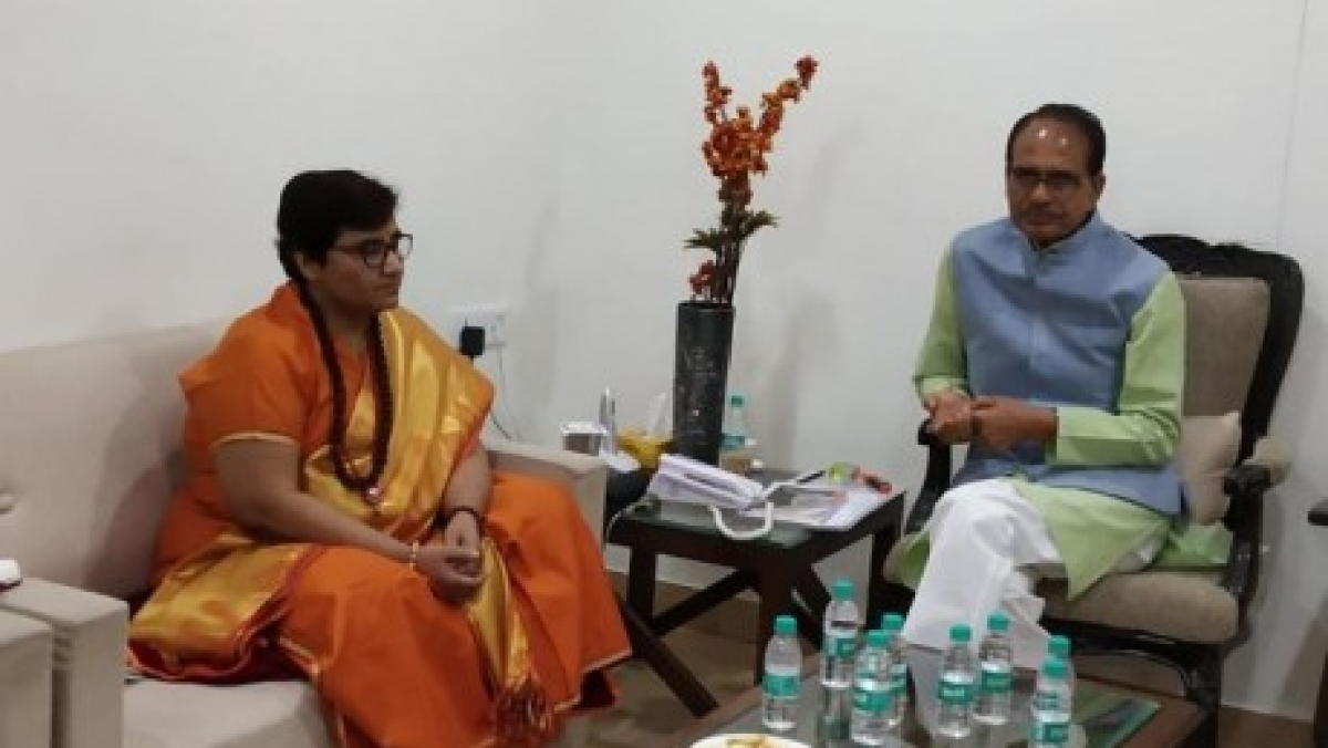Madhya Pradesh: Help guest scholars as you visited their dharna, says Pragya Thakur to CM Shivraj Singh Chouhan