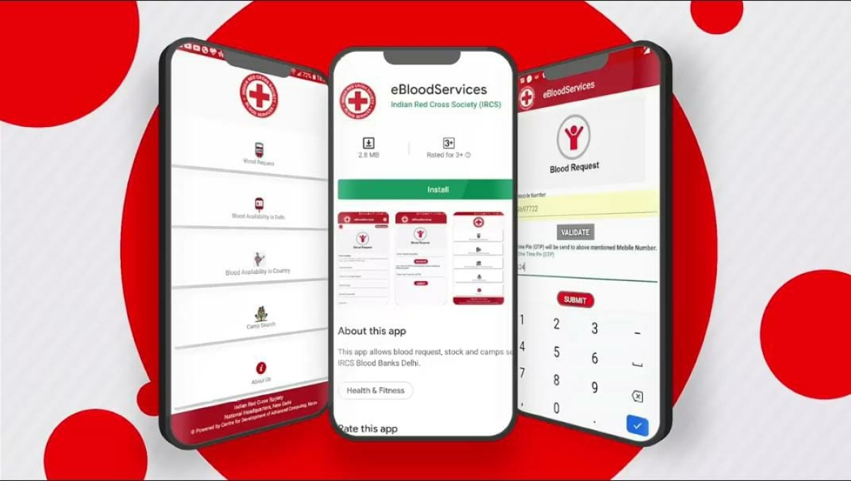 Check here to know how to order blood in Delhi-NCR region using new 'eBloodServices' mobile app