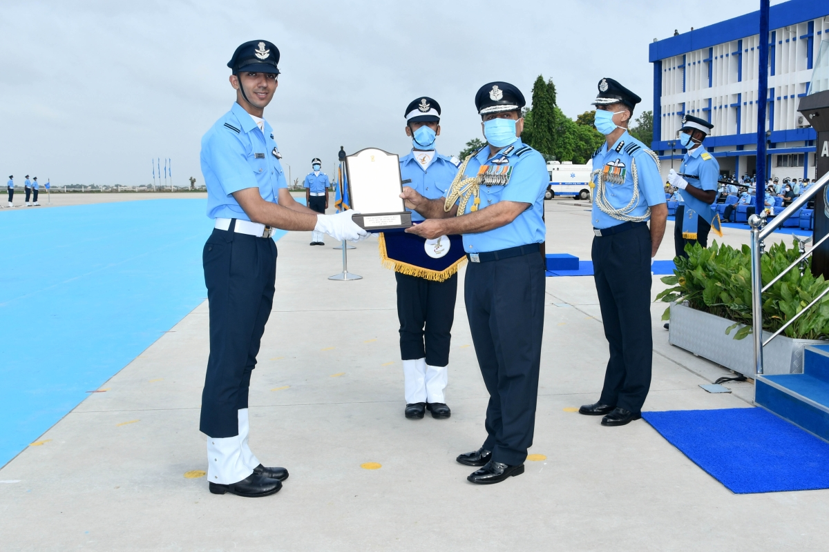 IAF inducts another batch of young leaders at the combined graduation parade held at Air Force Academy