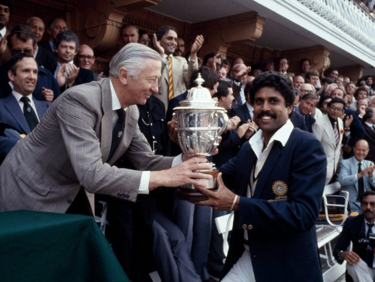 This day that year: India won their maiden cricket World Cup title in 1983