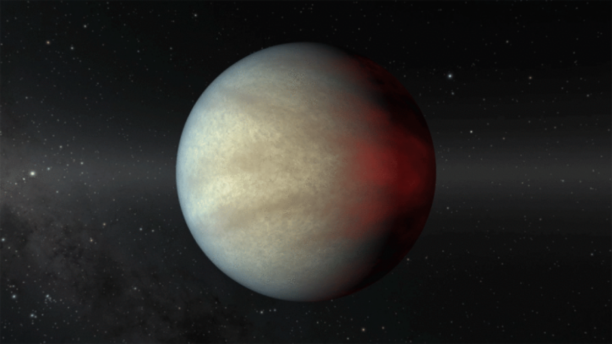 Young giant planet offers clues to the formation of exotic worlds