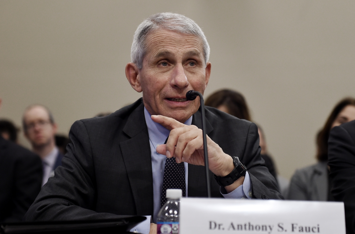 US disease expert Dr Anthony Fauci