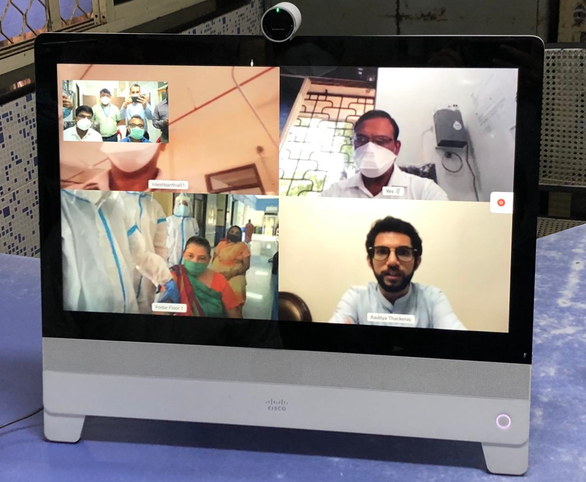 Coronavirus in Mumbai: G (South) ward sets up telemedicine COVID-19 care at Podar Hospital, Worli