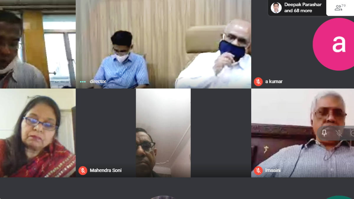 """Advanced Technology with Automation, Innovation and Optimization of Resources are the Key Parameters of Success for any Industry"" exhorts G C Sikder, during ICMICA-2020 virtual conference"