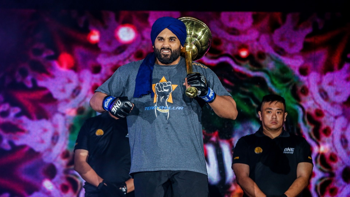 ONE Championship star Arjan Singh Bhullar helps native village in Punjab fight off coronavirus outbreak
