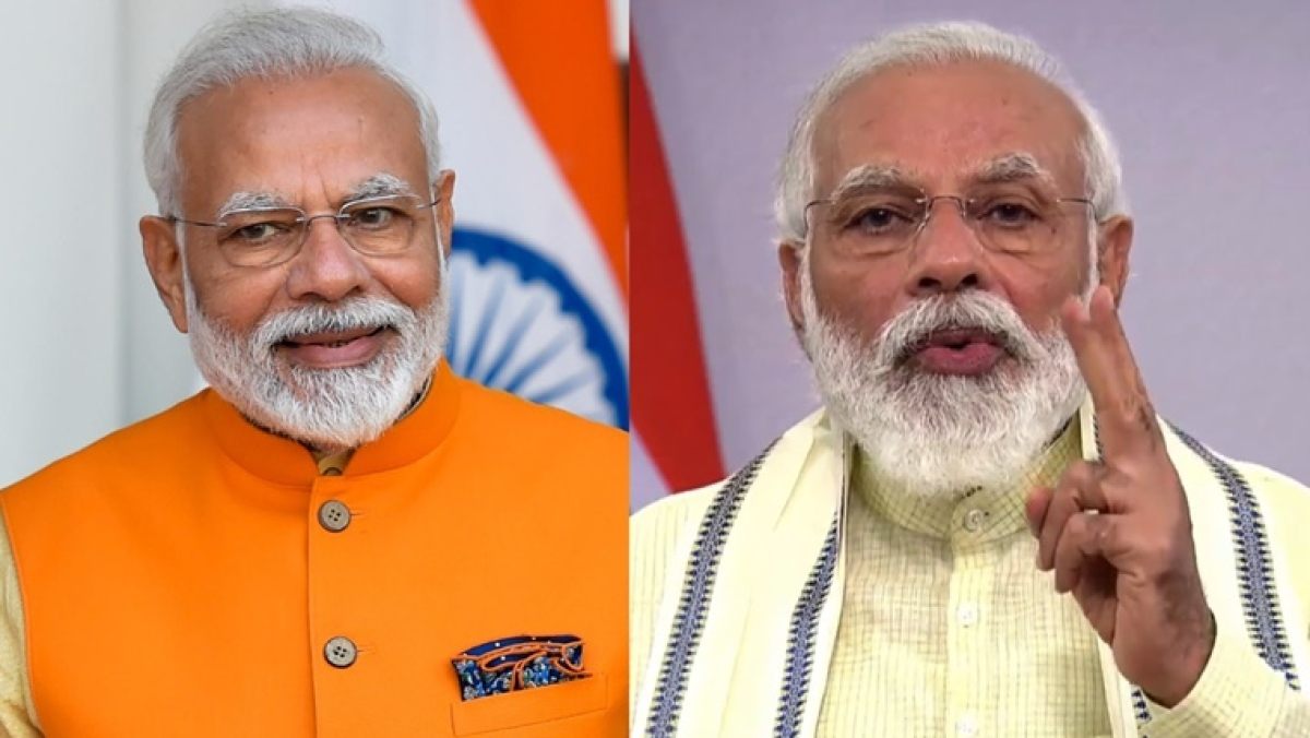 'He came on LIVE to flex his beard': Twitter is in awe of PM Narendra 'Dumbledore' Modi's new look