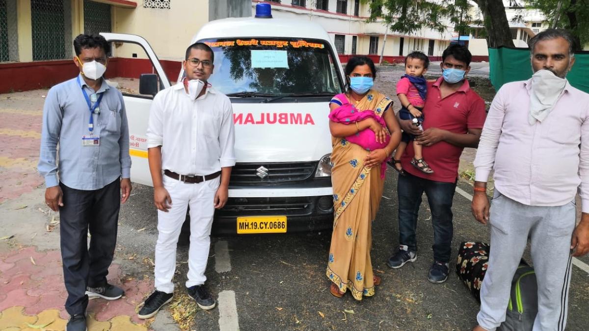 CR provides medical help to children born onboard Shramik Trains