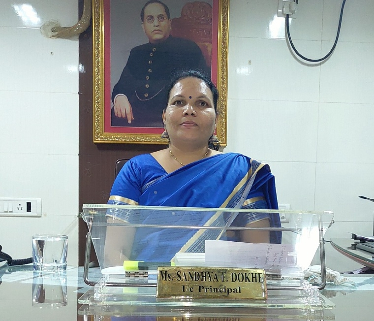 Sandhya Dokhe, Siddharth Law College In-Charge Principal