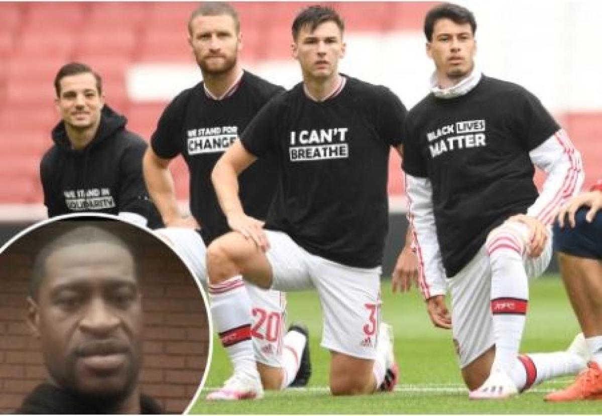 'Black Lives Matter' on Premier League players jerseys
