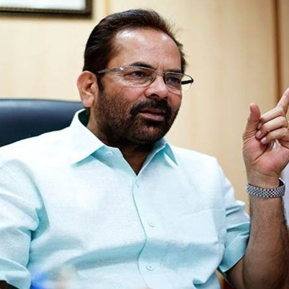 Mukhtar Abbas Naqvi slams Rahul Gandhi's 'failed lockdown' remark