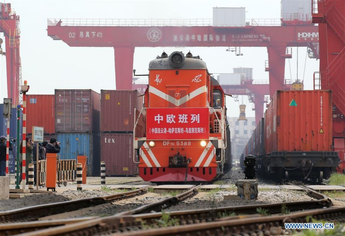 In Pictures: China-Europe freight trains play crucial role in pandemic fight in Europe
