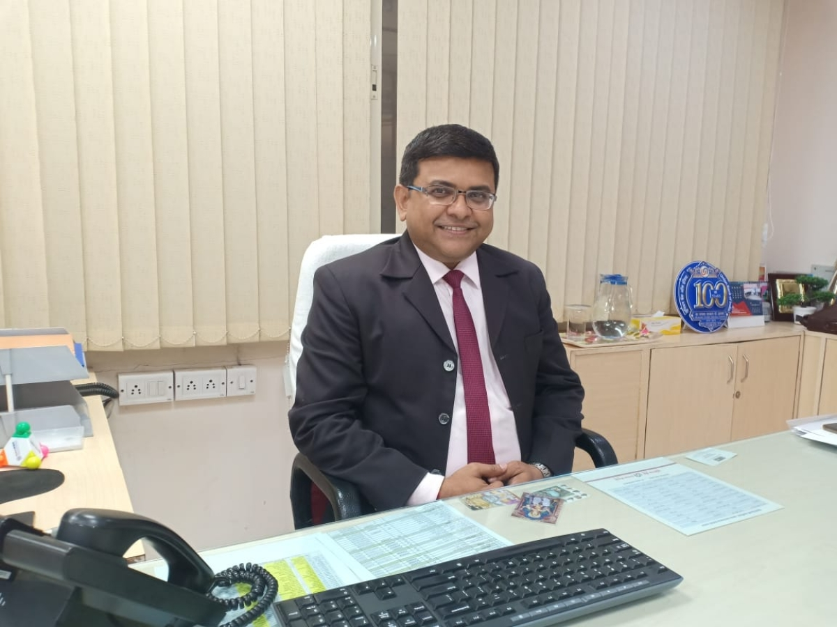 Manoj Kumar, Dy General Manager, Union Bank of India, Indore