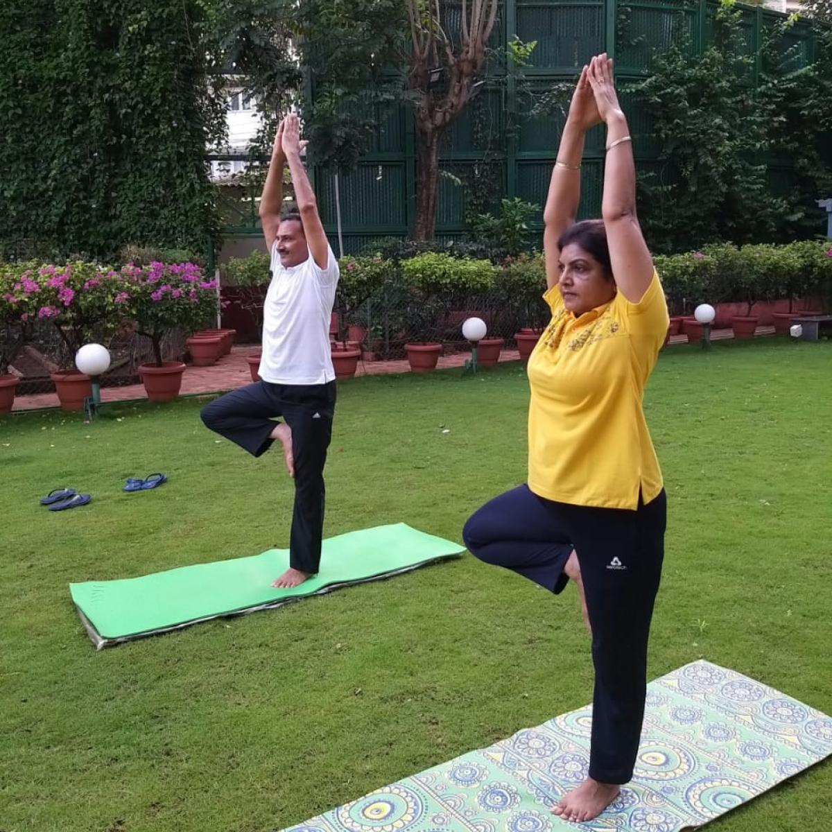 Central Railway observes International Day of Yoga