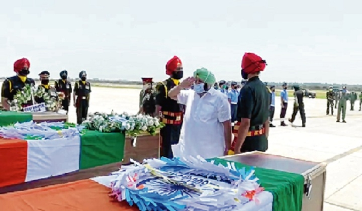 2 Punjab soldiers cremated with full military honours