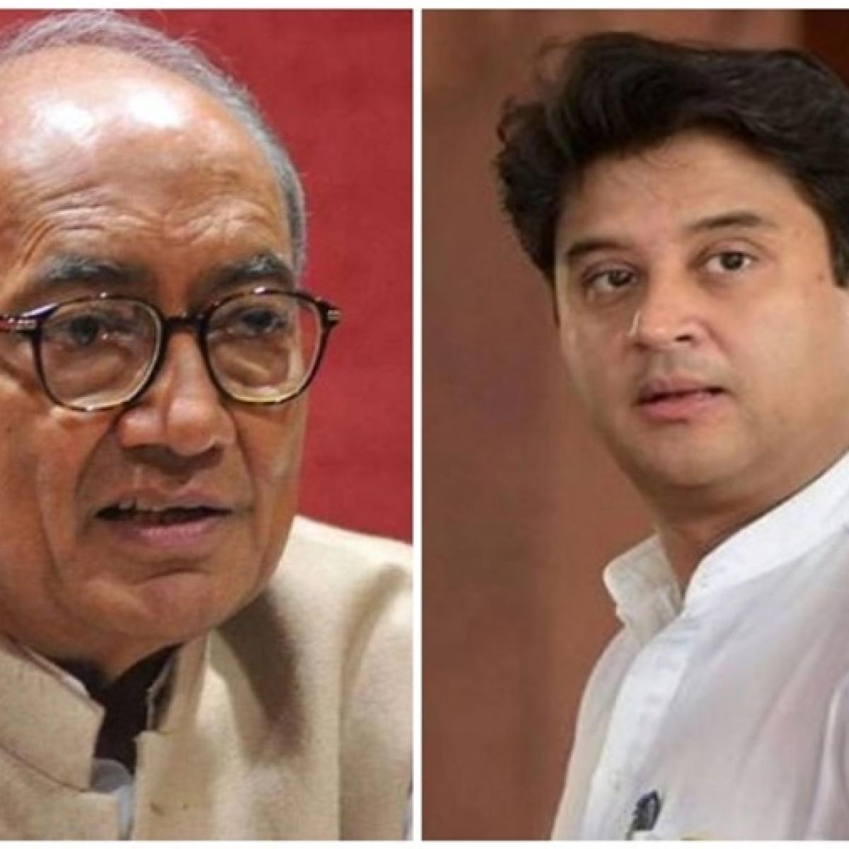 Jyotiraditya Scindia, Digvijaya Singh set to enter Rajya Sabha from Madhya Pradesh