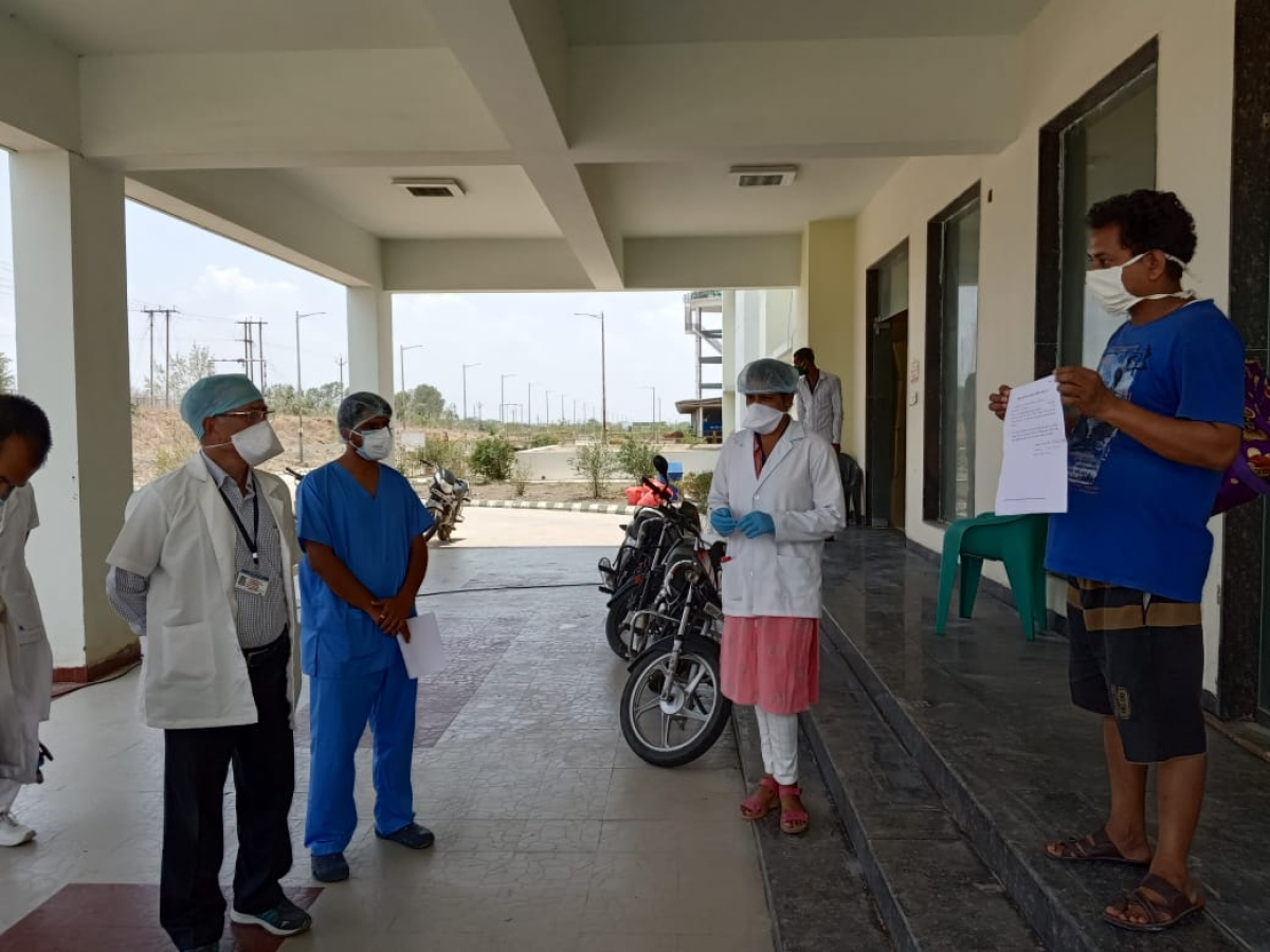 Coronavirus in Ujjain: One-yr-old girl, among 2 new patients, tally 733, 612 discharged