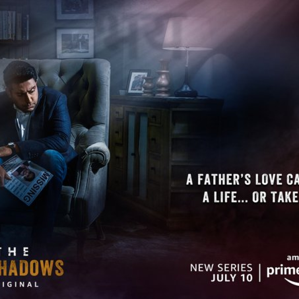Amazon Prime Video shares first look poster of Abhishek Bachchan's 'Breathe Into The Shadows'