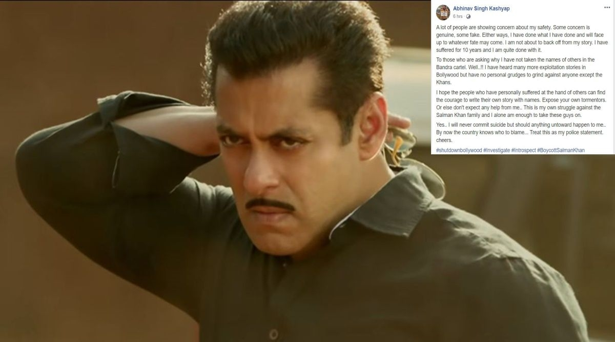 'I will never commit suicide but if something happens...': Abhinav Singh Kashyap after blaming Salman Khan and family