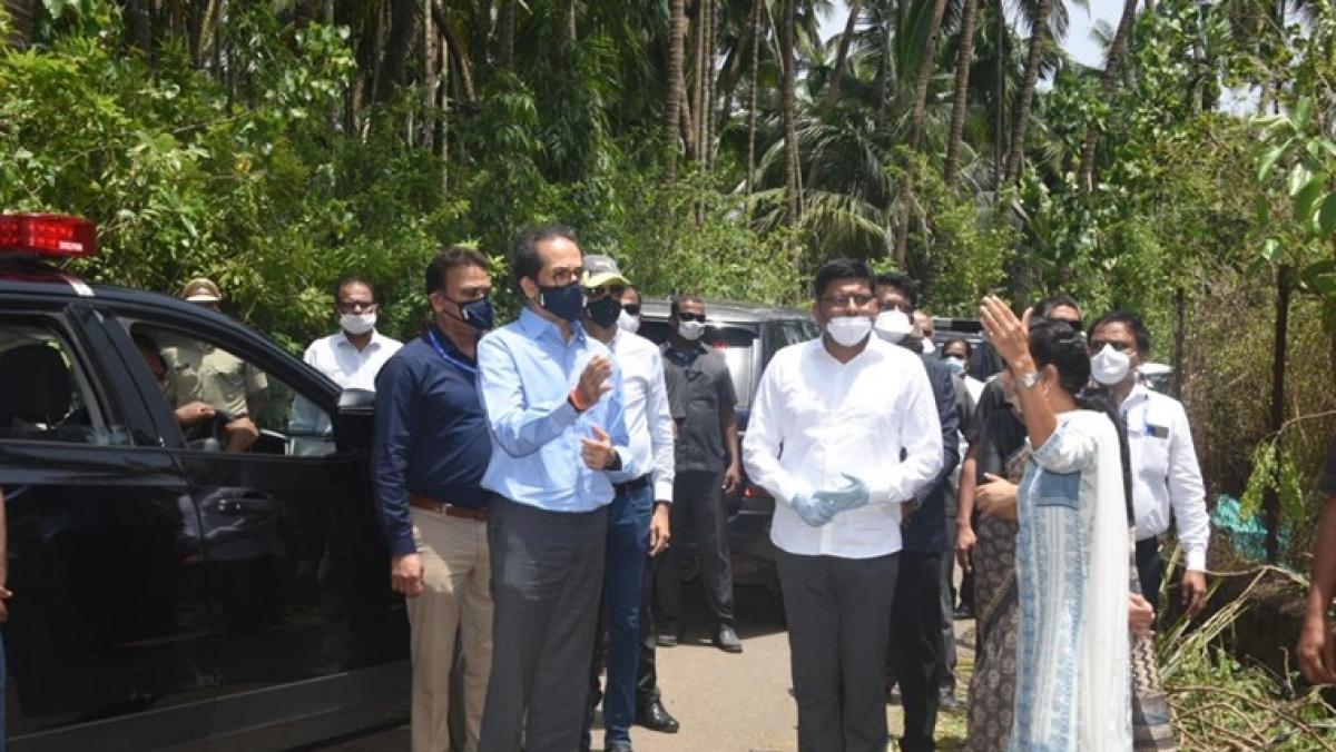Cyclone Nisarga: Maharashtra CM Uddhav Thackeray announces Rs 100 cr immediate relief for Raigad