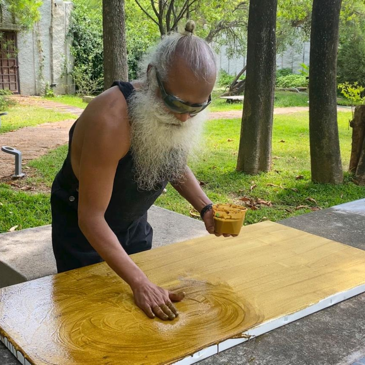 Sadhguru's 'Bhairava' Painting Up For Auction To Raise Funds For Corona Relief