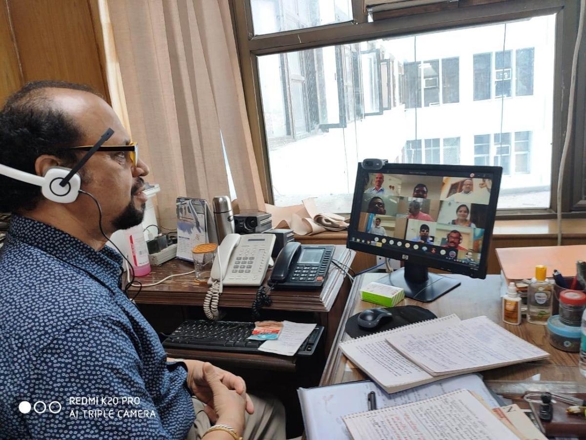 Central Translation Bureau trains 16 CRPF translators online