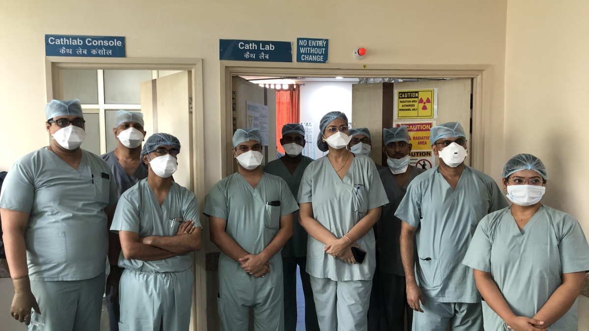 Indore: TAVR surgery carried out on 93-yr-old at Apollo Hospital