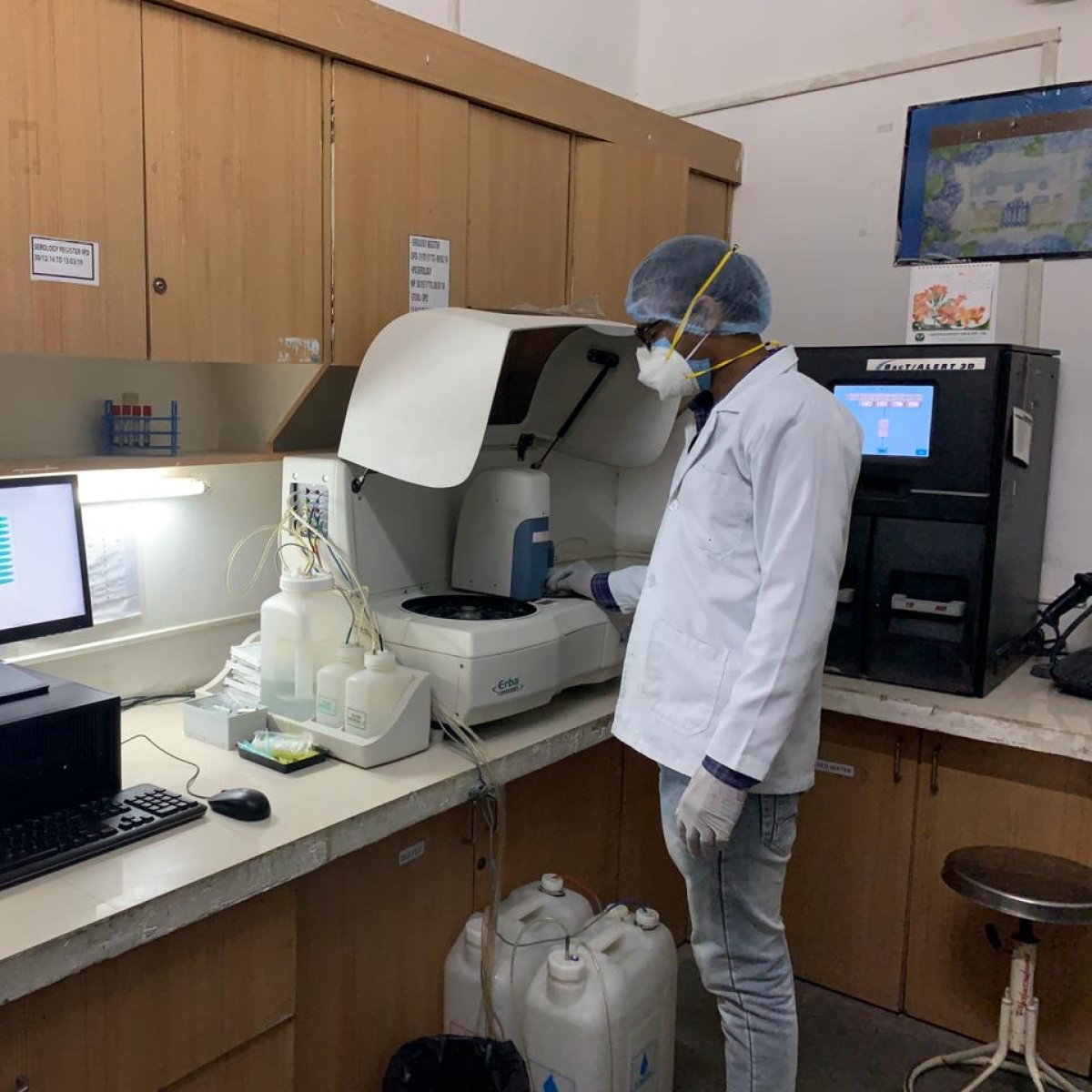 SAIMS first in MP to start antibody tests