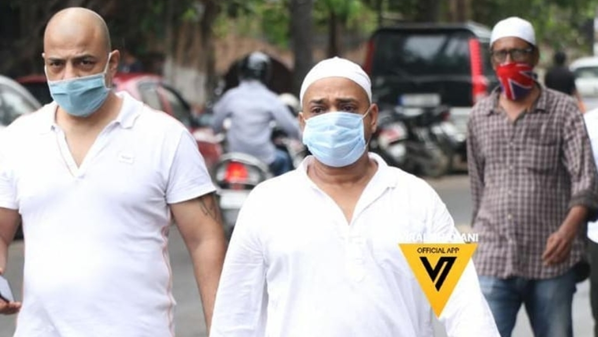 Wajid Khan funeral pictures: Celebs arrive to offer condolences
