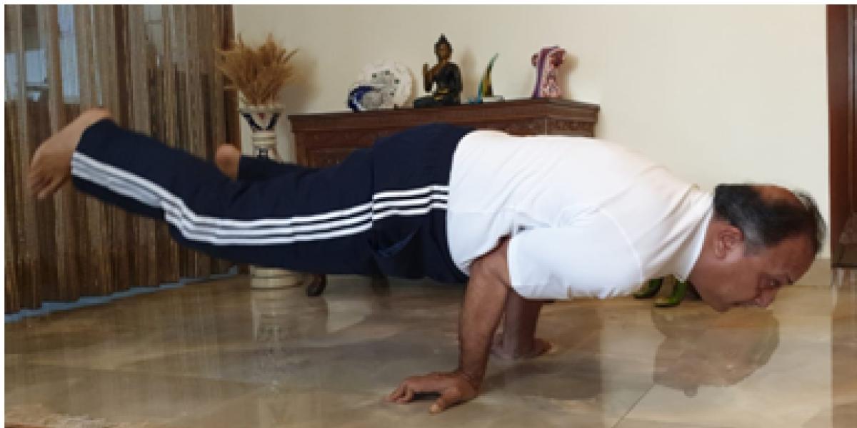 NFL celebrates 6th International Yoga Day