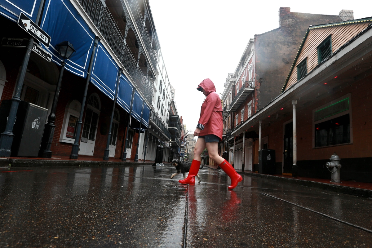 With rain and floods, USA braces for Tropical Storm Cristobal