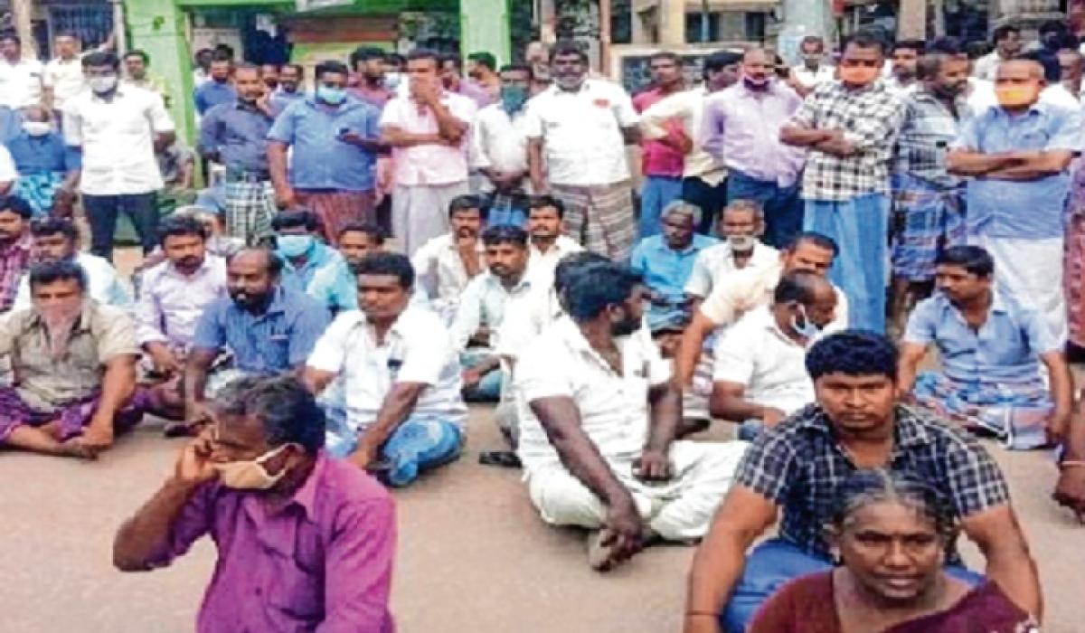 Political uproar over custody death of father, son in Tamil Nadu