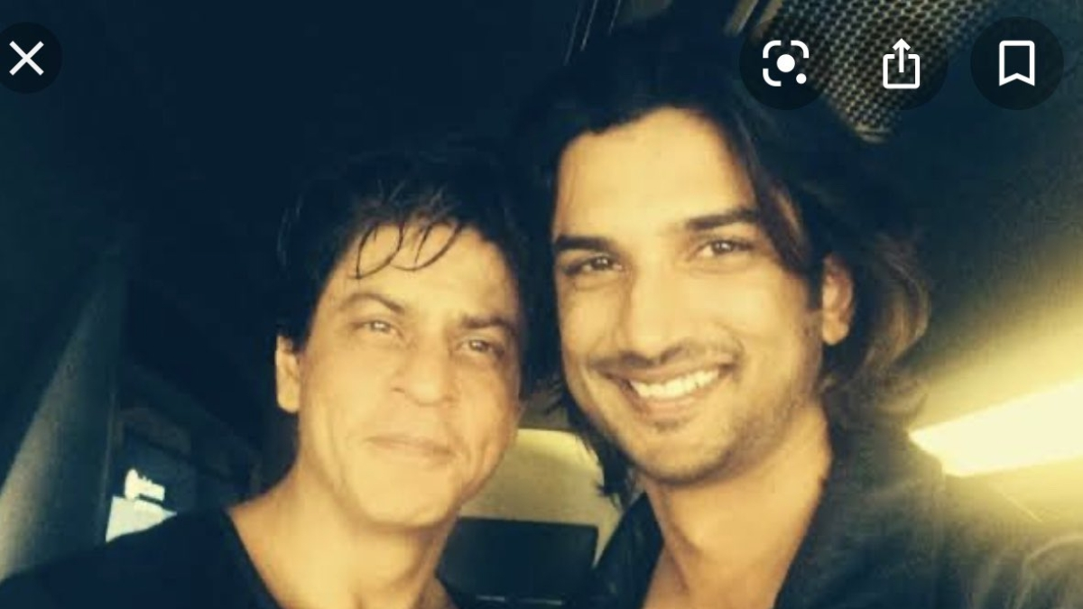 'He loved me so much...': Shah Rukh Khan mourns Sushant Singh Rajput's demise