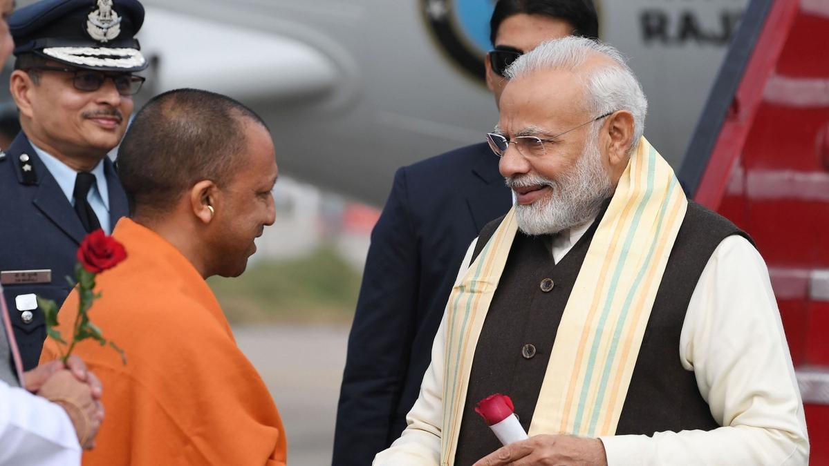 PM Modi hails Yogi Adityanath's pandemic response, claims he saved '85,000 lives'