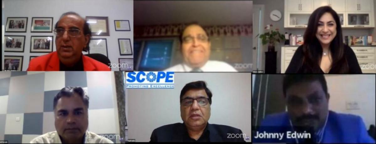 SCOPE conducts International Health Webinar