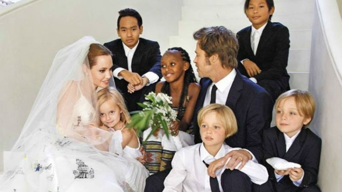 Angelina Jolie says separated from Brad Pitt for 'well-being' of children