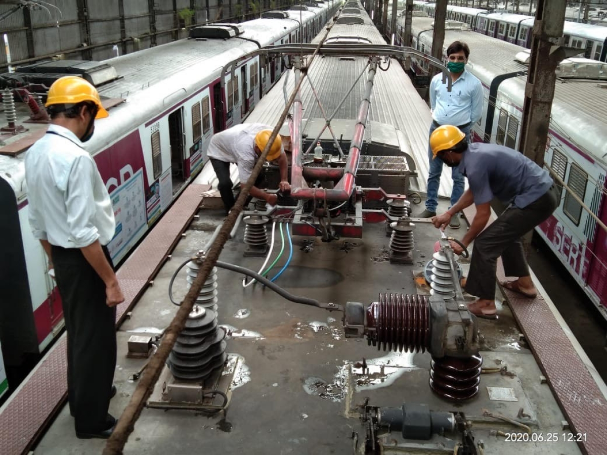 CR maintains local trains and refreshes workforce through online training