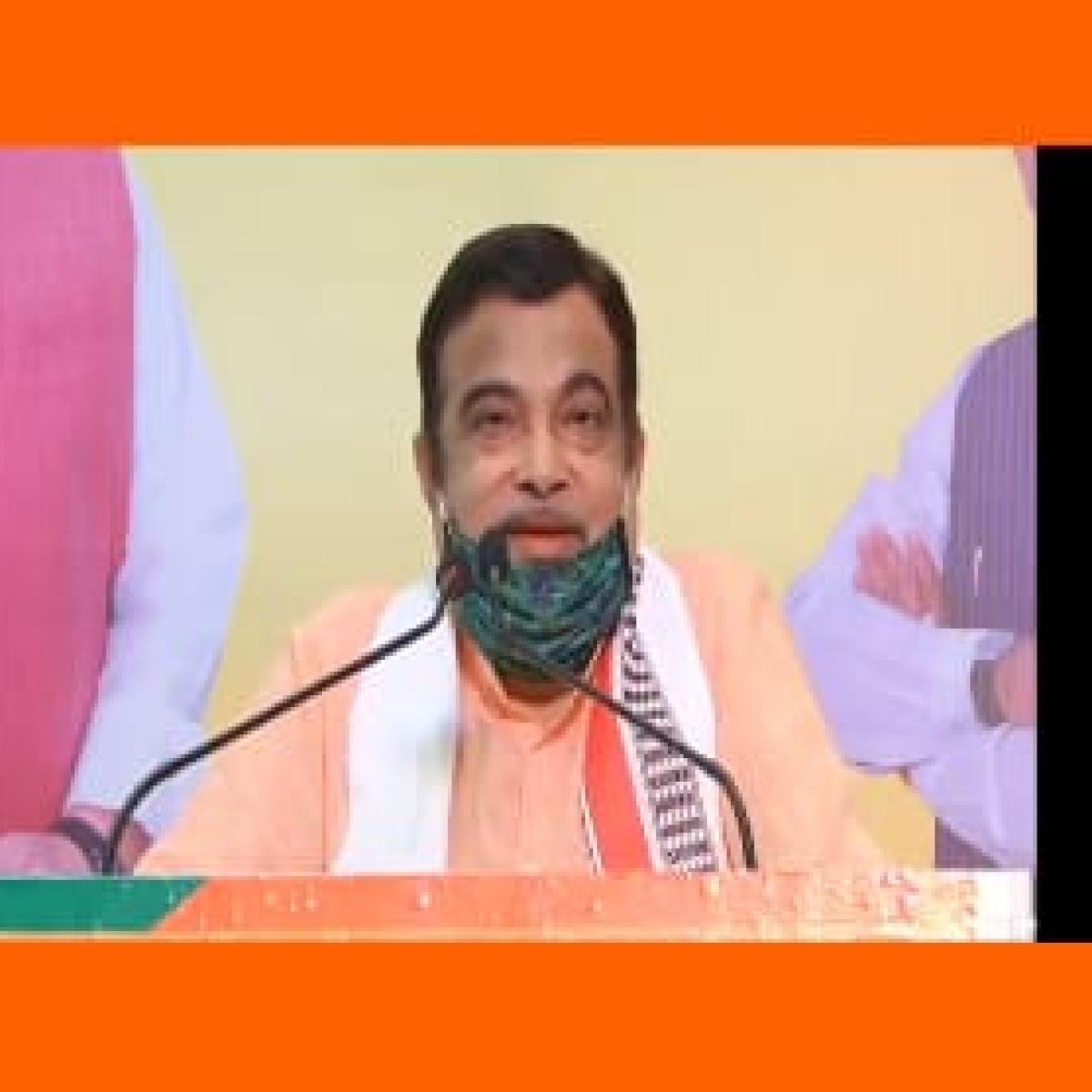 After MP govt acquires land, Chambal Express Way work will start: Nitin Gadkari