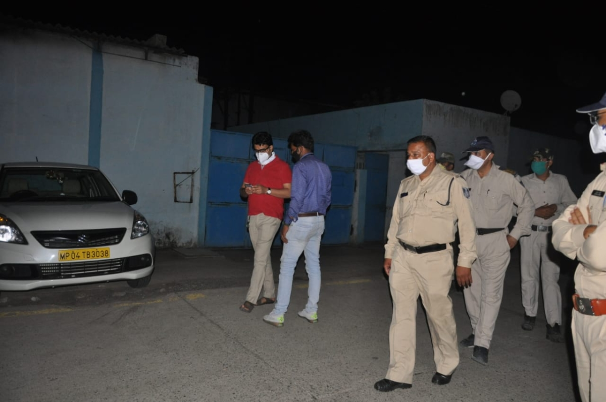 Indore: Full masala at raid on Gutkha king's 'fort'