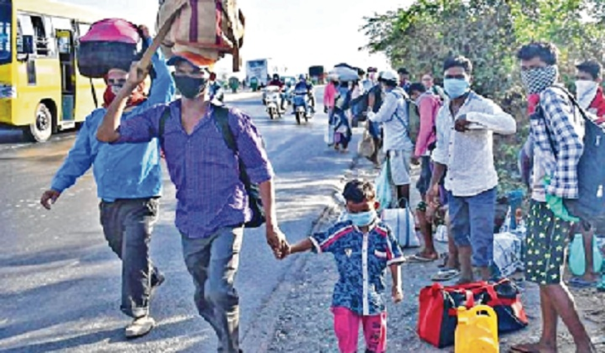Scheme to prevent return of migrants from villages
