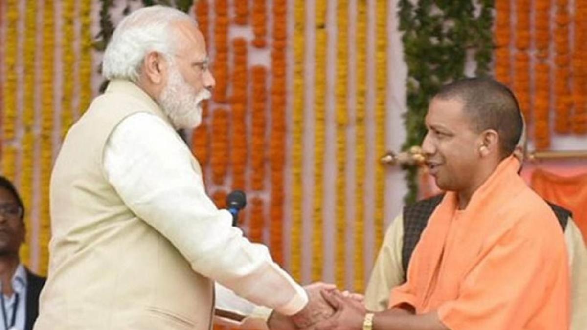 PM Modi, Anurag Thakur, others wish Yogi Adityanath on his birthday
