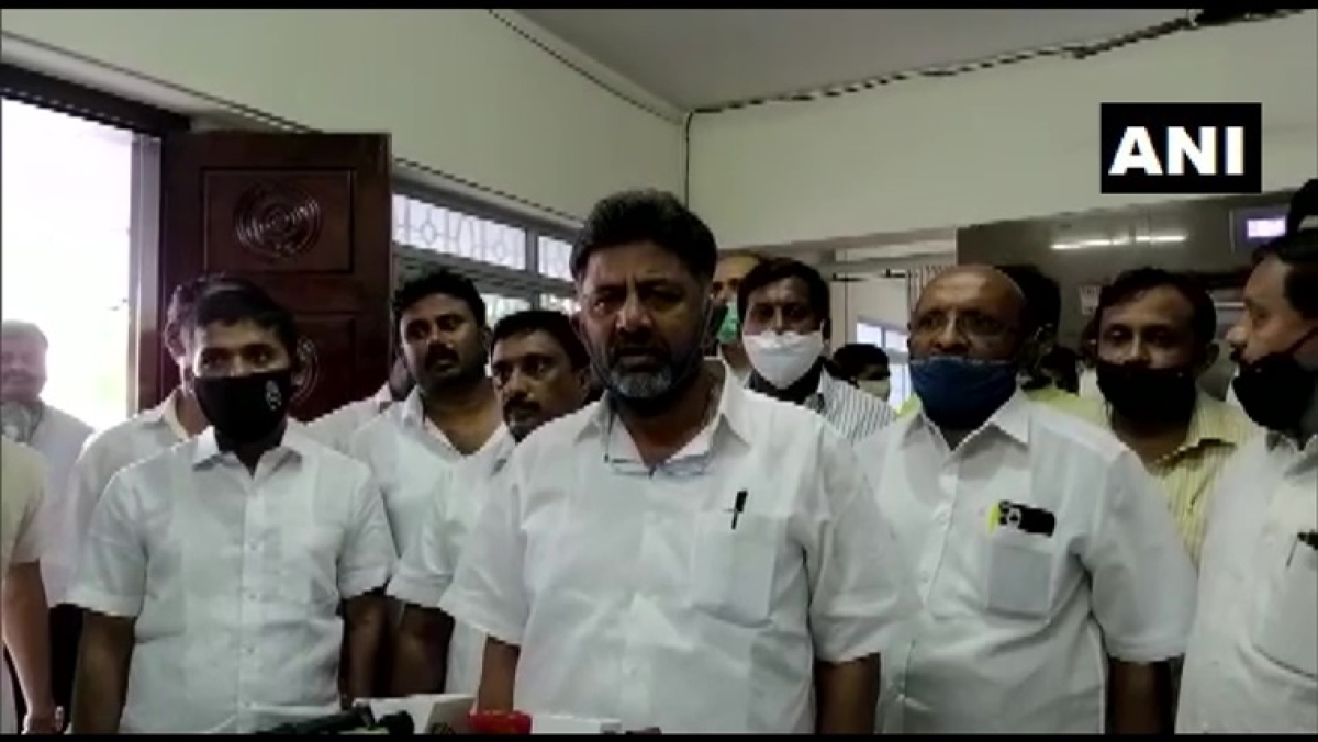 Congress to field one candidate; decision soon on support to Deve Gowda's candidature for RS: DK Shivakumar