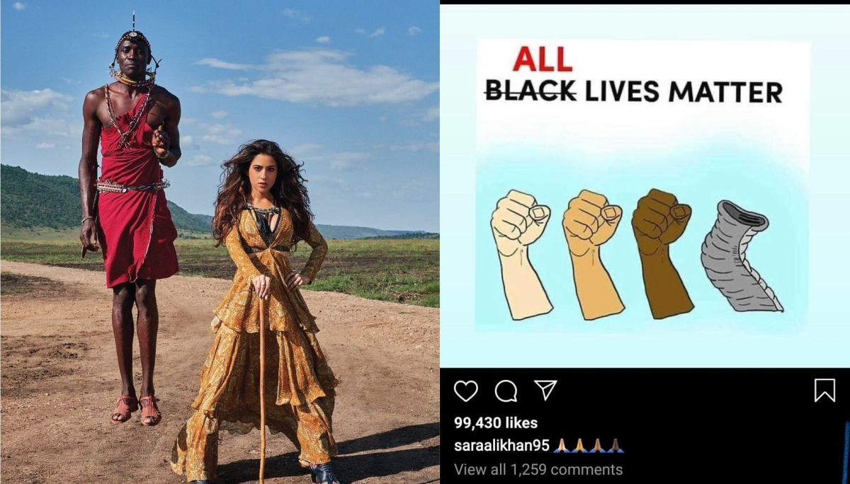Dear Sara Ali Khan and other celebs, why saying All Lives Matter is just plain wrong