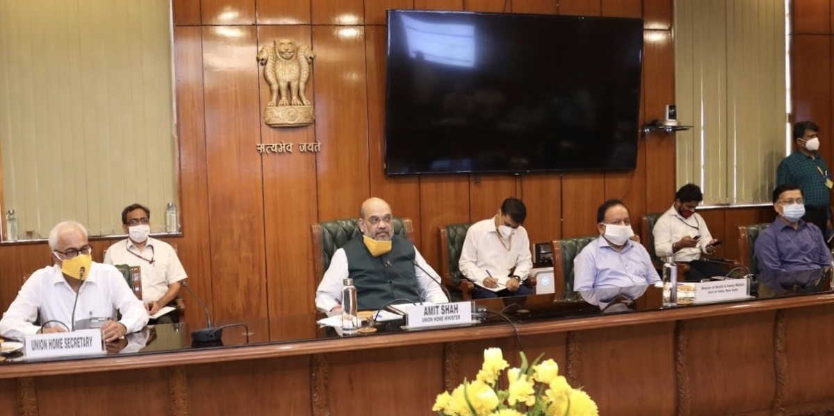 Amit Shah calls all-party meeting on COVID-19; directs immediate transfer of 4 IAS officers to assist Delhi Govt